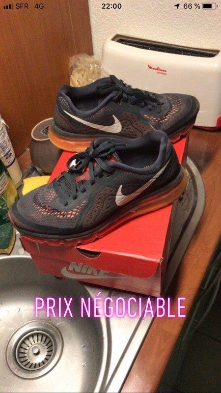 Nike air max flyknit Vinted | Nike air max noir, Converse