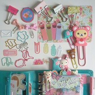 Cute supplies for planner.