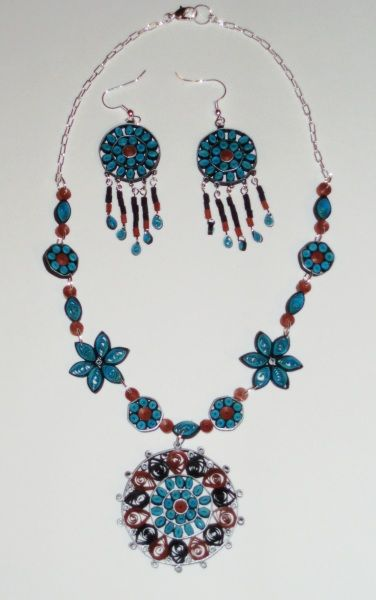 Southwestern Quilled Jewelry - Quilling Cafe