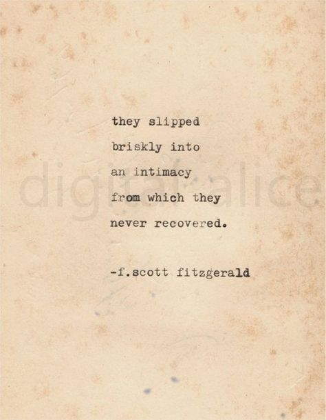 VINTAGE TYPEWRITER PRINT f Scott Fitzgerald Quote -Wall Art Instant Download-too much champagne is j