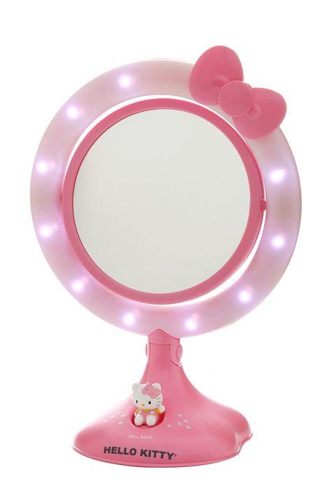 Hello Kitty Lighted Makeup Mirror Hello Kitty Makeup