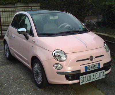 Häufig The 25+ best Fiat 500 pink ideas on Pinterest | Fiat, Fiat new car  ZU73