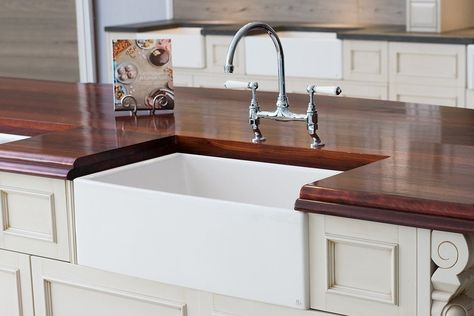 Mayfair Farmhouse Sink 30 Inch Fireclay Kitchen Sink Kitchen Sink Design Butler Sink Fireclay Farmhouse Sink