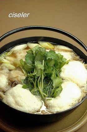 大和芋のきりたんぽ風鍋