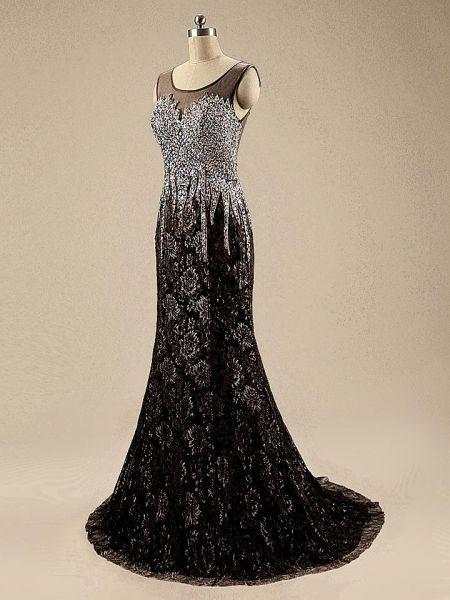 فستان سوارية من اف اند ام جوبير مشغول اسود Pinterest Fashion Fashion Sleeveless Formal Dress