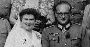 Wedding Day Of Heinrich I Reuss Kostritz 1910 1982 Woizlawa Feodora Meck Schwerin 1918 Married 1939 Had Six Historical Figures Schwerin Family History