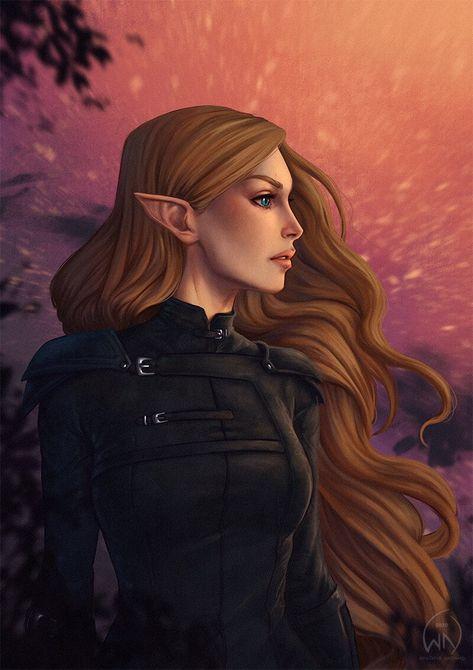 ArtStation - Feyre Archeron , Wictoria Nordgaard