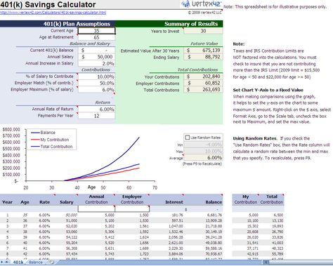 Savings Calculator Excel Template Accounting \/ Bookkeeping - jsa form template