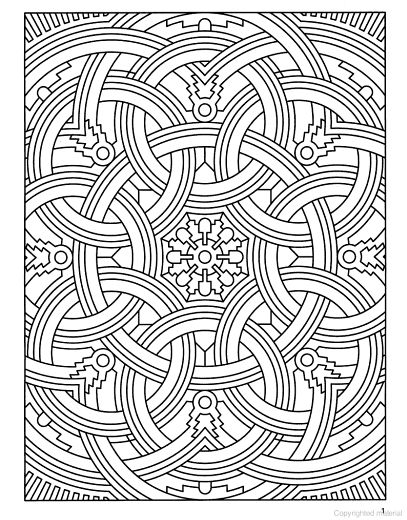 Anti-stress coloring for adults. Art therapy | Coloring Outside the ...