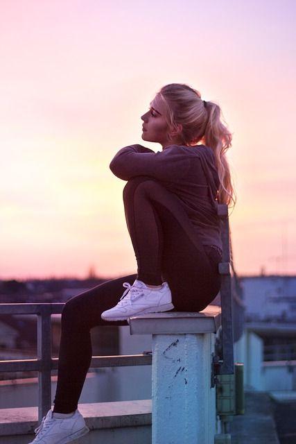 Imagen gratis en Pixabay Mujer, Puesta Del Sol, Moda