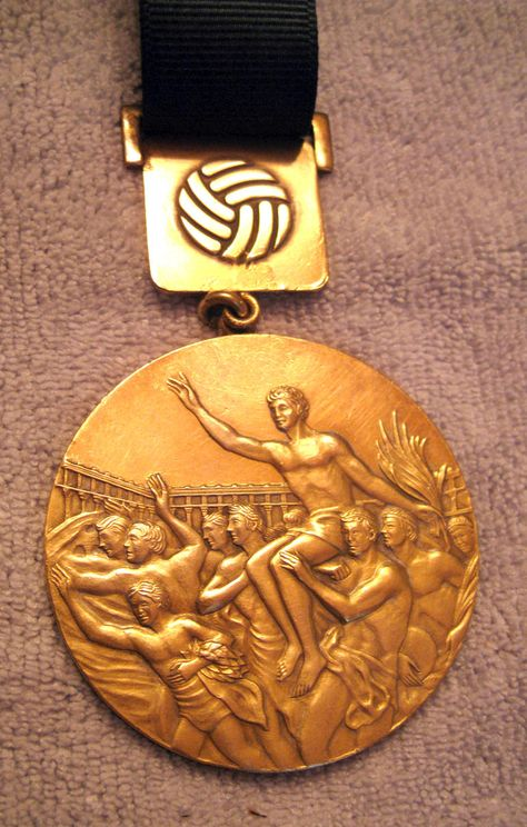 The Mexico Olympic Games gold medal