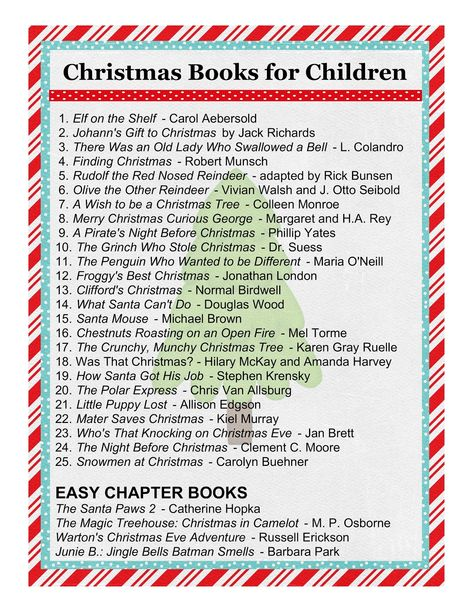 I think I'll do books instead of activities for our advent calendar this year :)