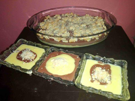 طريقة عمل الكاسترد بالبسكويت سلسة وصفاتي المشكله 7 زاكي Desserts Food Yummy