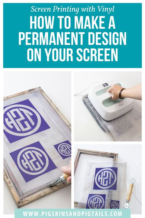 How to Make a Permanent Design on Your Speedball Screen Printing Frame