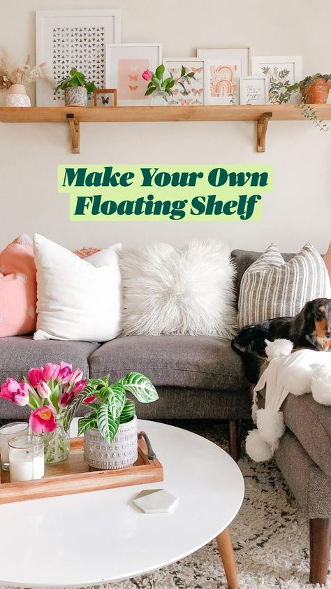 Make Your Own Floating Shelf