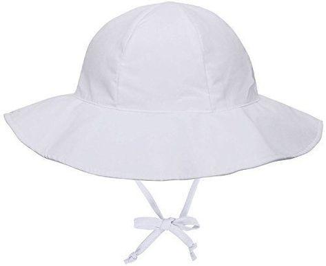 f609b0453ae8f Livingston Toddler 50+ SPF UV Wide Brim Bucket Sun Hat White 2-4 Years Hats  Baby  Livingston