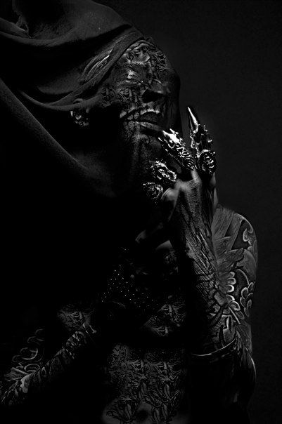Darkside by gene ginno alducente, via Behance