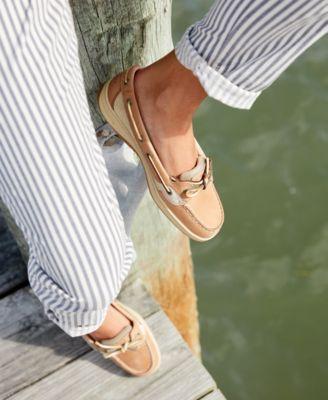 Angelfish Boat Shoes - Tan/Beige 6M