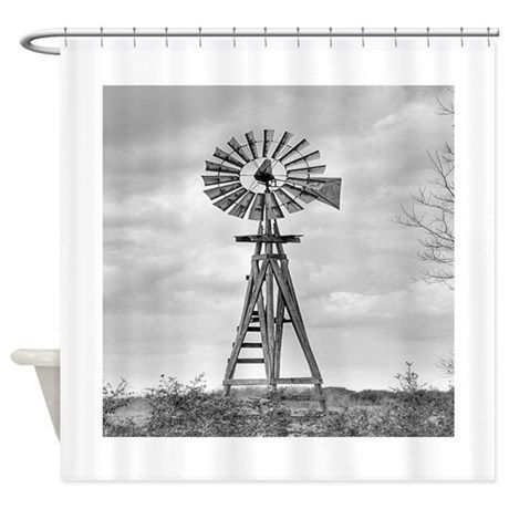 Windmill Shower Curtain By Frecklesfuncat Cafepress In 2020
