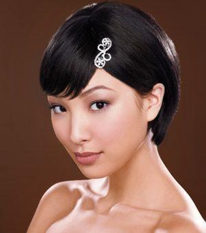 Most Popular Short Wedding Hairstyle