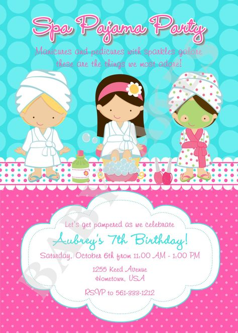 Free printable spa birthday party invitations spa at home free printable spa birthday party invitations spa at home pinterest spa birthday parties spa birthday and party invitations stopboris Image collections