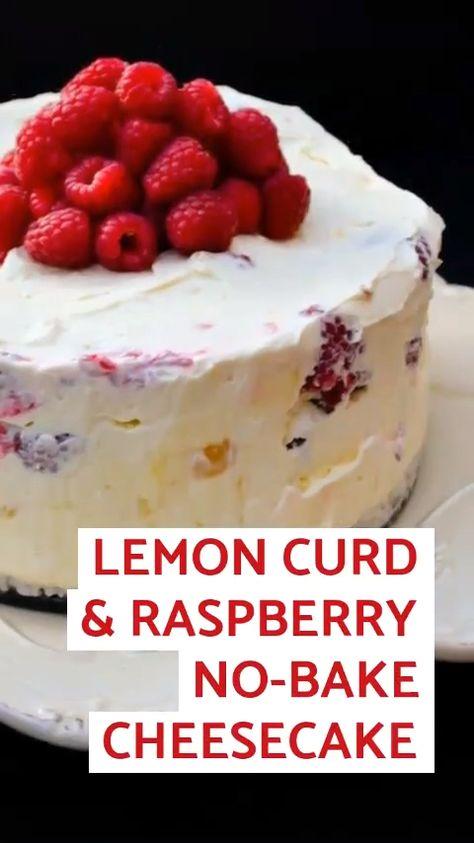 #lemoncurdcheesecake #raspberrycheesecake #nobakecheesecake #lemoncheesecake #bestcheesecake #deepcheesecake #summerdessert #christenings #raspberries #raspberries #cheesecake #cheesecake #raspberry #raspberry #birthdaysDeep Lemon Curd and Raspberry No-Bake Cheesecake An easy but stunning dessert that is a creamy no-bake center piece for birthdays, weddings, christenings, family dinner or sunday dinner. Filled with fresh raspberries and lemon curd this is the perfect summer dessert recipe. nobak