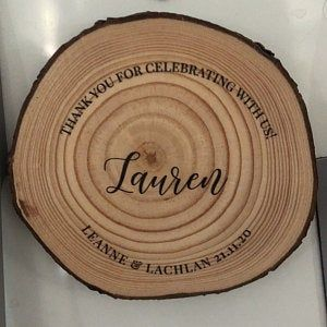 100 Wood Slices 6 8 Cm Wood Slices For Ornaments Wood Slices For Laser Engraving Pine Slices Rustic Wood Rounds Tree Slices In 2020 Large Wood Slices Wood Slices Tree Slices