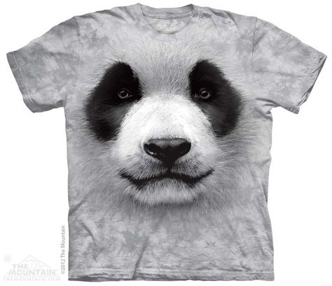 T-Shirt 3D Printed Christmas Panda in The Costume of Deer Bear with Horns Casual Tees