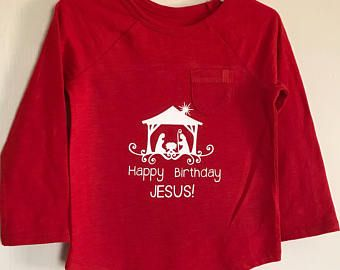 Kids Nativity Long Sleeve Tshirt Awesome Pinterest Custom - Custom vinyl decals for tee shirts