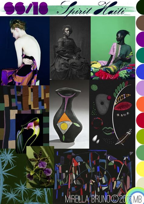 Inspiration Information - © Mirella Bruno Print Trend Designs Directions for future personal projects.