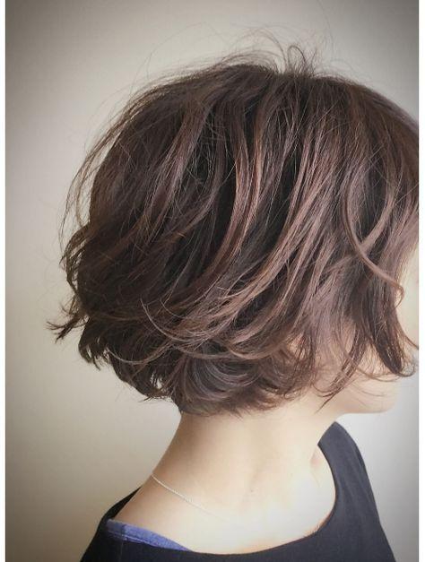 クブヘアー Kubu Hair Kubu Hair 大人ゆるふわひし形ショートボブ