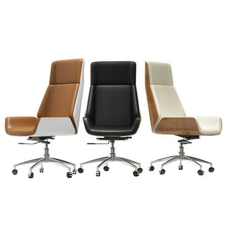 Bent Wood Office Meeting Room Reception Leather Guest Chair
