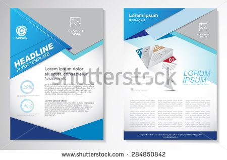 Vector Brochure Flyer Design Layout Template. Infographic