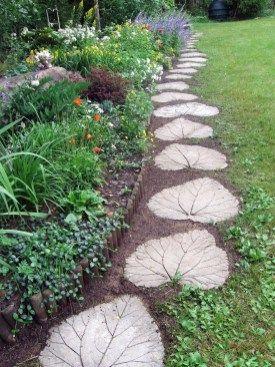 Amazing Diy Cheap Diy Garden Path Ideas