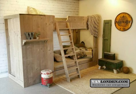 Bed Met Kast : Slaapkamer bed en kast bed en kast meubelen theo and junior
