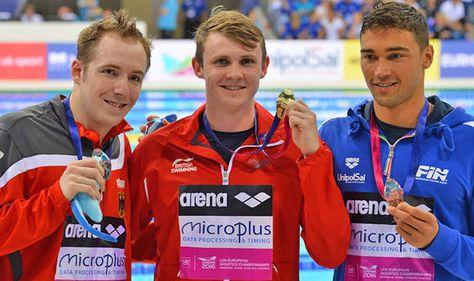 Ross Murdoch lands 200m breaststroke gold in European Championships ahead of Rio 2016