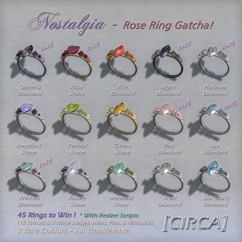Nostalgia - Rose Ring Gatcha