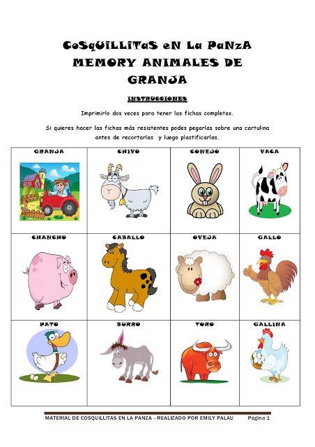 67 Ideas De Animales De La Granja Animales De La Granja Animales Granja