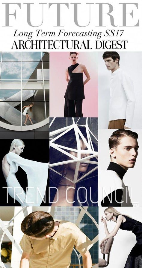 TRENDS // TREND COUNCIL - ARCHITECTURAL DIGEST . SS 2017 #fashiontrends