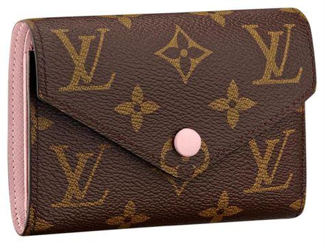 LOUIS VUITTON   Victorine Wallet, Rose, (Size 4.7x3.7x3.7), New   Tradesy