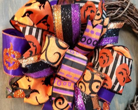 Deluxe Halloween Garland Halloween Decoration Mesh Garland | Etsy