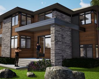 40 Foot Shipping Container Home Full Construction House Plans Blueprints Usa Feet Inches Australian Metric Sizes Hurry Last Sets In 2020 House Designs Exterior House Exterior Modern House Plans