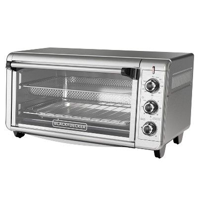 Black Decker Toaster Oven Stainless Steel Target Toaster