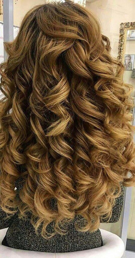 100 Hairstyles For Naturally Curly Hair To Rock This Summer In 2020 Big Curls For Long Hair Curls For Long Hair Big Curly Hair