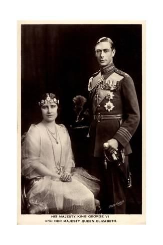 New 5x7 Photo King George V and Queen Mary of England 1914