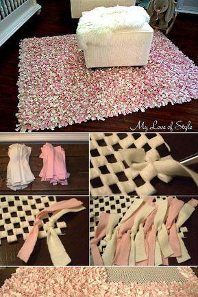 35 Easy Diy Rug Ideas You Can Make Right Now Diy Rug Rag Rug Tutorial Homemade Rugs