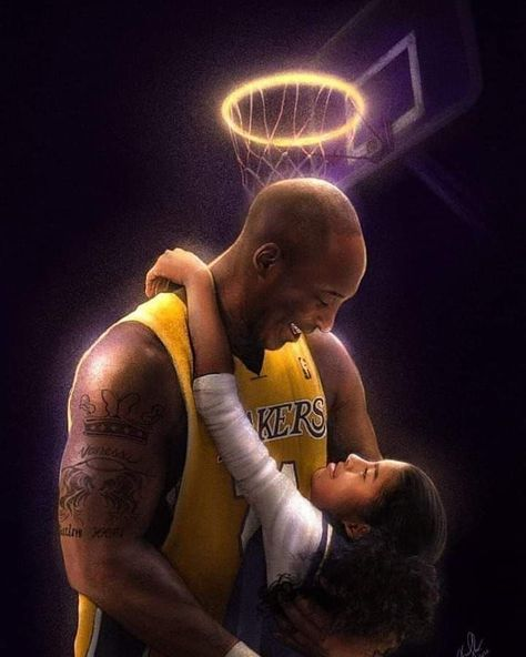 Artists around the world immortalize Kobe and Gianna Bryant – Basketball