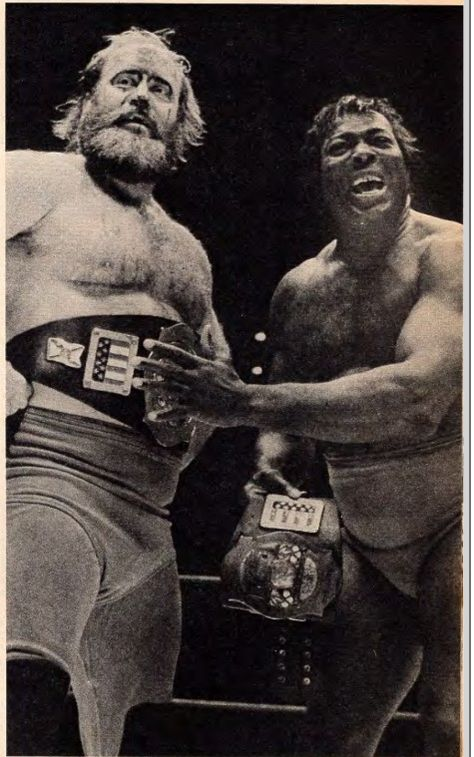 Florida Tag Team Champions Bobo Brazil and Bugsy McGraw 1980 | Pro ...