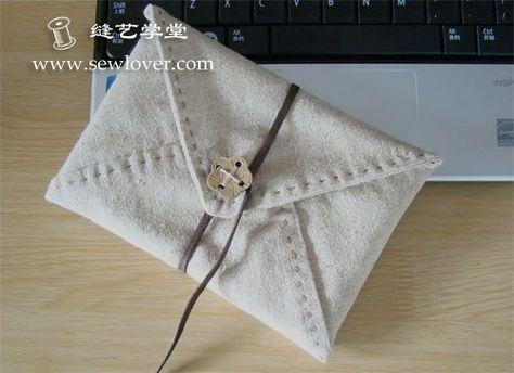 b7226f5e6d73 Клатч-конверт. МК. Выкройка | сумки | Клатч-конверт, Выкройки и Сумки