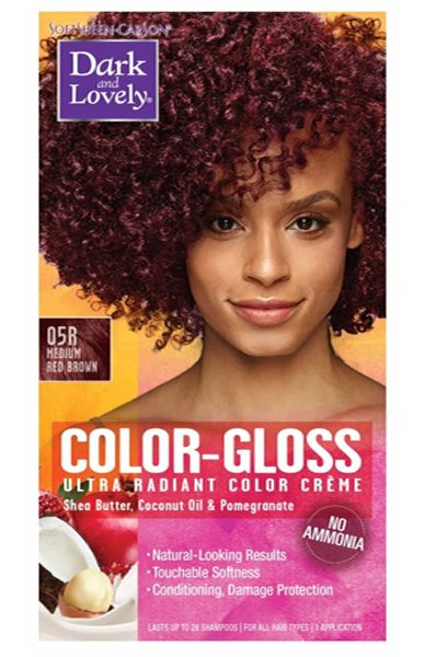 Dark And Lovely Ultra Vibrant Permanent Hair Color 74 Radiant